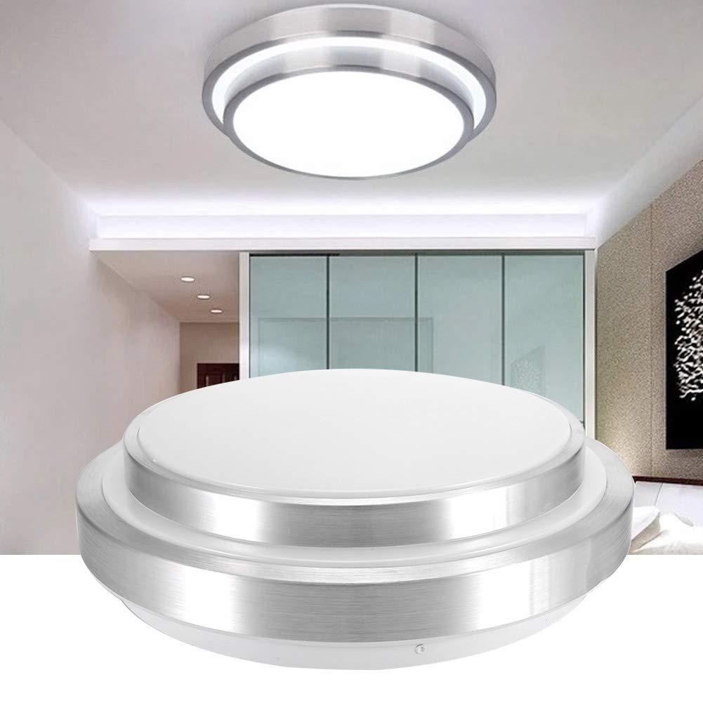 Garaje habitaci/ón de los ni/ños Dormitorio Luces sal/ón Pasillo Riuty 60 W Smart WiFi L/ámpara de Techo LED luz WiFi para Sala de Estar ba/ño Bodega