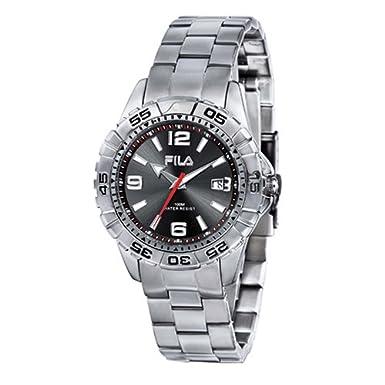 Fila FA0648-11 - Reloj de cuarzo para hombre con correa de acero inoxidable: Amazon.es: Relojes