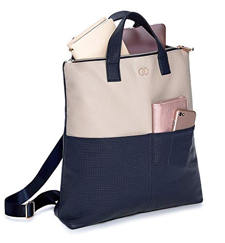 Caboodles Life & Style Essential Tote Bag, Padded Computer Bag with Easy Access Pockets