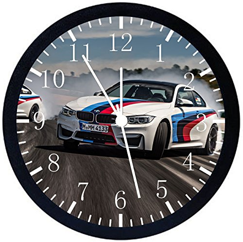 Rusch Inc. BMW Race Car Black Frame Wall Clock E374 Nice For Gift or Home Office Wall Decor 10
