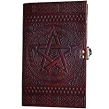 leather journals S.S.D.N. Prime clearance sale Genuine Leather Cover Personal Plain Journal Diary Notebook For Business Work School For Everyday Use christmas gifts cyber monday & black friday gifts