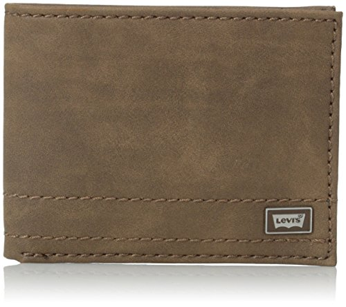 Levis Dillon Passcase Wallet Removable