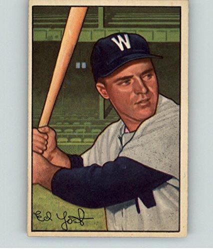 1952 Bowman #31 Eddie Yost Senators NR-MT 315428 Kit Youn...