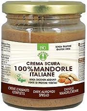 Risparmia su Probios Crema Scura 100% Mandorle Italiane Bio - [Confezione da 6 x 200 g] e molto altro