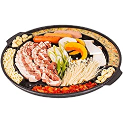 CookKing - Master Grill Pan, Korean Traditional BBQ Grill Pan