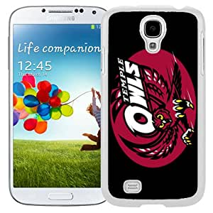 Fashionable And Unique Custom Designed With NCAA American Athletic Conference AAC Football Temple Owls 6 Protective Cell Phone Hardshell Cover Case For Samsung Galaxy S4 I9500 i337 M919 i545 r970 l720 Phone Case White