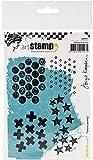 Carabelle Studio Cling Stamp A6 By Birgit Koopsen-Textures Printing