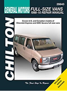Chevrolet gmc full size vans 1996 2010 haynes repair manual automotive repair manual for chevrolet vans 1998 10 28643 fandeluxe Gallery