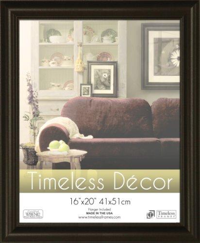 Timeless Frames 16x20 Inch Boca Picture Frame, Black (X Frames 16 Picture 20 Black)