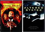 Psychedelic Horror Double Feature - Altered States & Angel Heart 2-Movie DVD Bundle