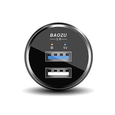 baozu Dual puertos Dash Cargador para OnePlus 3/3T/5 y ...