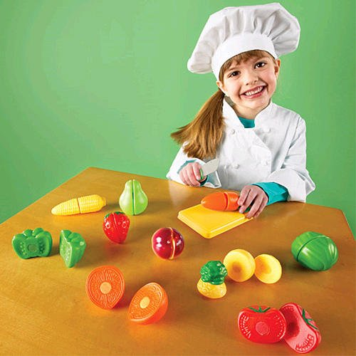 Pretend Play Sliceable Fruits Veggies