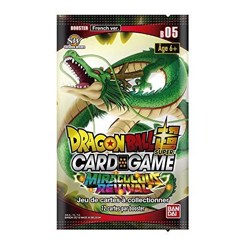 Dragon Ball Super Card Game Booster de 12 Cartes Serie 5 Version Francaise Miraculous Revival