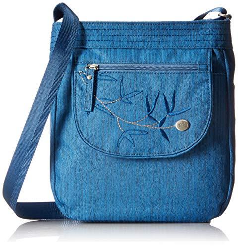 Sapphire Bag - HAIKU Women's Jaunt Small Crossbody RFID Blocking Travel Bag, Sapphire