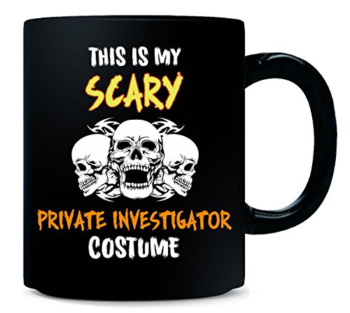 This Is My Scary Private Investigator Costume Halloween Gift - Mug ()