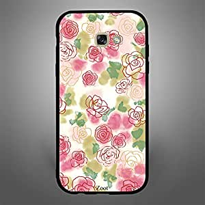 Samsung Galaxy A7 2017 Roses Sketch