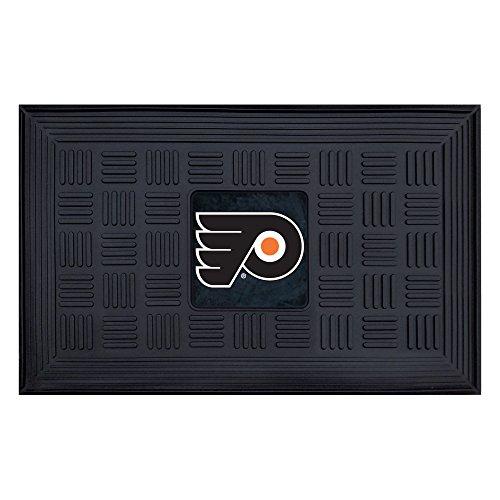 Medallion Door Mat - Fanmats 11477 NHL Philadelphia Flyers Vinyl Medallion Door Mat