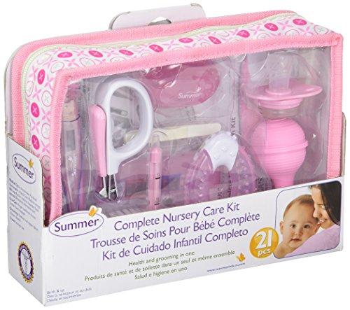 Summer Infant Complete Nursery Care Kit, Pink/White ()