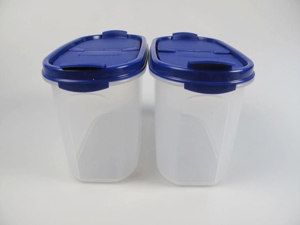 Tupperware Eid genossen 1,1 L Azul con Schütte (2) secar tarro ...