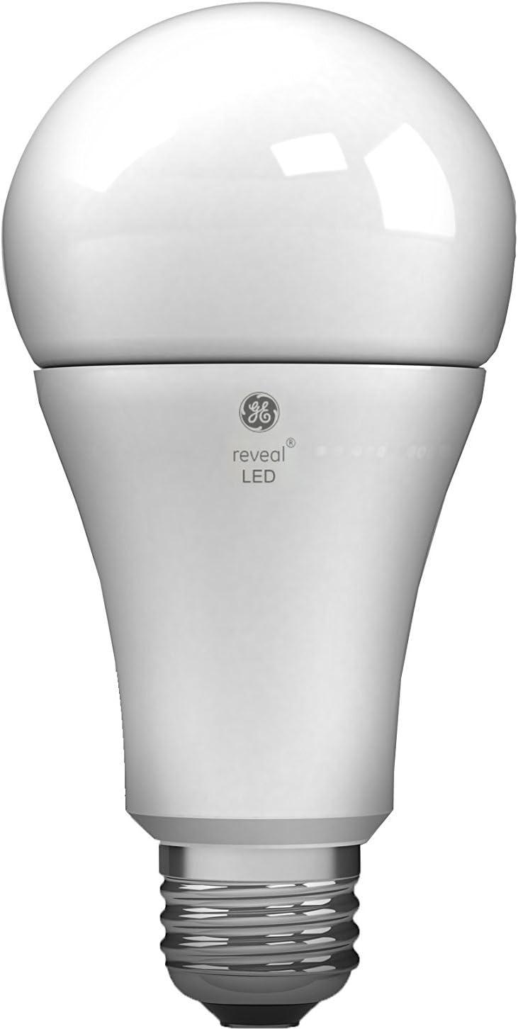 GE Lighting 45657 Reveal LED A21 Light Bulb with Medium Base, 14-Watt, 1-Pack