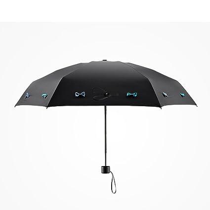 Marco reforzado con paraguas – resistente al viento paraguas anti-UV hembra – Sunny paraguas