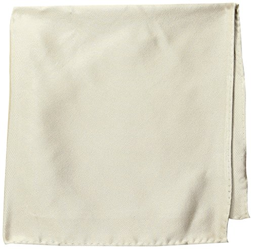 Countess Mara Men's For Every Occasion 100% Silk Pocket Square, Sand, One Size (Mara Online)