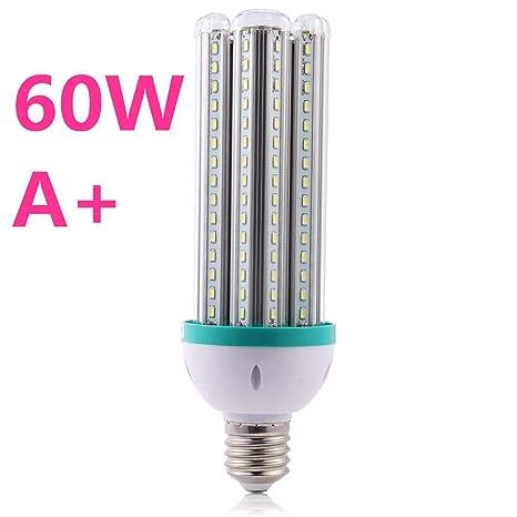 60W,Lampara ahorro de energia Bombilla LED ,Blanco