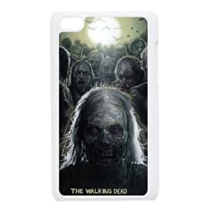 iPod Touch 4 Case White The Walking Dead TNC Plastic Phone Case For Girls