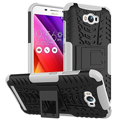 Slim Armor Hard Case for Asus Zenfone Max ZC550KL (White) - 3