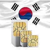 South Korean 1GB Prepaid Data sim card Standard Micro Nano for 30 days South Korea