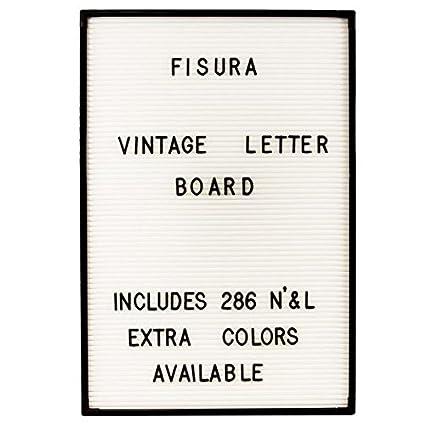 Fisura DC0408 Vintage Letter Board 45x30cm Tablero Fieltro ...