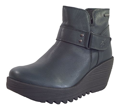 Reef Wedge Yock062Fly Leather London Fly Goretex Boots Blue Moose Waterproof ZTq8HSwH