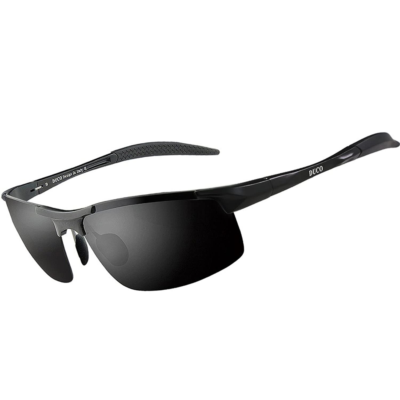 Duco Men\'s Sports Style Polarized Sunglasses Driver Glasses 8177S ...