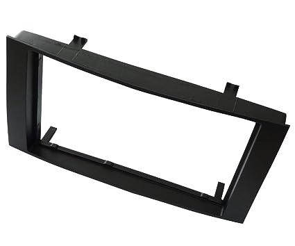 negro vehiculos Color AERZETIX Marco adaptador para radio de coche