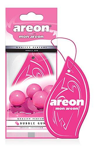 Schön Areon Mon Auto Lufterfrischer Bubble Gum Duft Autoduft Kaugummi Pink Rosa 1  Stück Hängend Zum Aufhängen