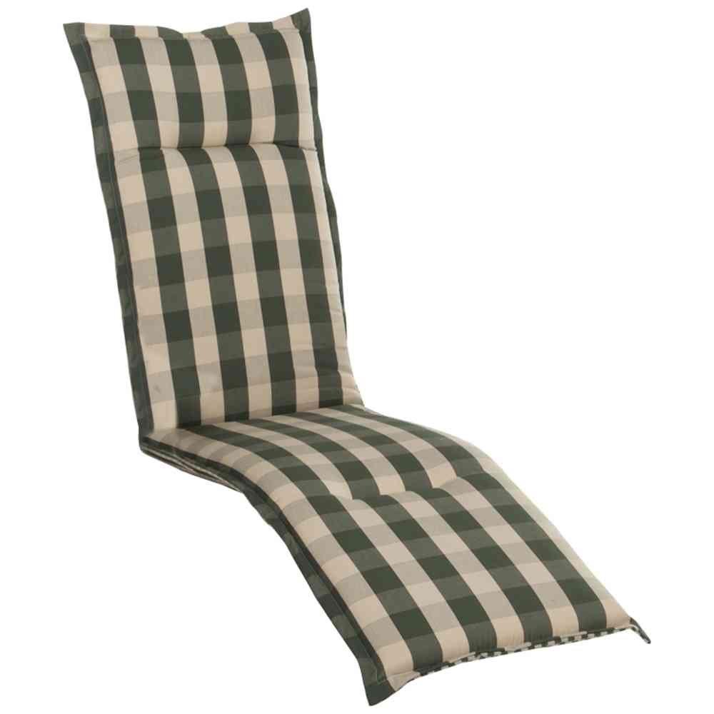 Auflage Kent für Deckchair 190x46x8 cm, grün 100% Polyacryl Polyacryl Polyacryl 5debc8