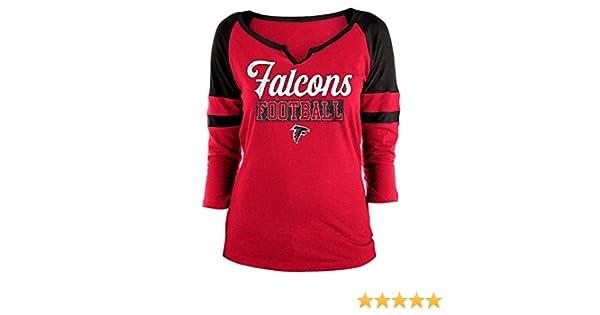 eda84416 New Era Atlanta Falcons Women's NFL Offense 3/4 Sleeve Raglan Shirt