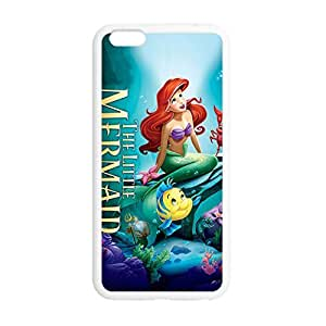 Laser Technology The Little Mermaid Personalized Design TPU Case Cover with Picture for iPhone 6 4.7 by ruishername