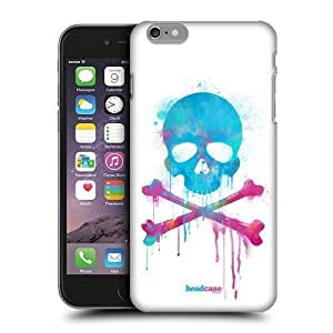 6557118M49690186 Head Case Designs Brush Skulls and Crossbones Protective Snap-on Hard Back Case Cover for Apple iPhone 6 Plus 5.5