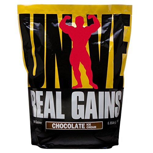 Universal Nutrition Real Gains Chocolate Powder 3.2Kg by Ultimate Nutrition by Universal Nutrition