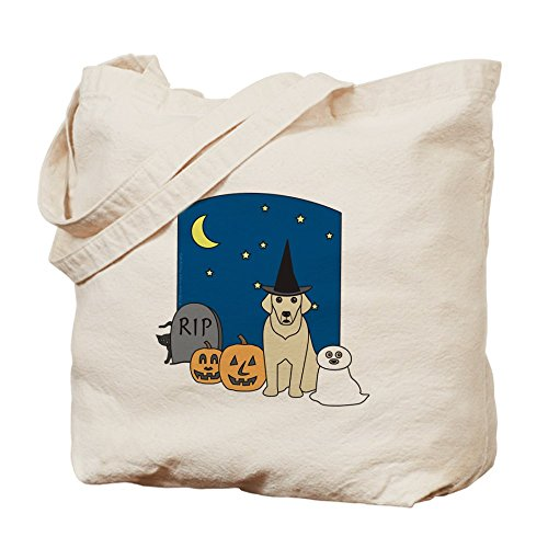 CafePress Labrador–Halloween Tote Bag–Natural gamuza de bolsa de lona bolsa, bolsa de la compra