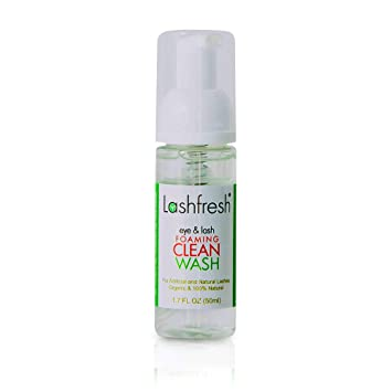 Amazon com: Lashfresh Foaming Eye & Lash Clean Wash for