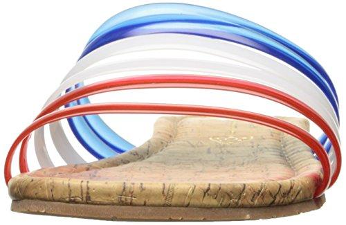 BC Footwear Women's for You Slide Sandal Red/White/Blue lrnbB5RfxU