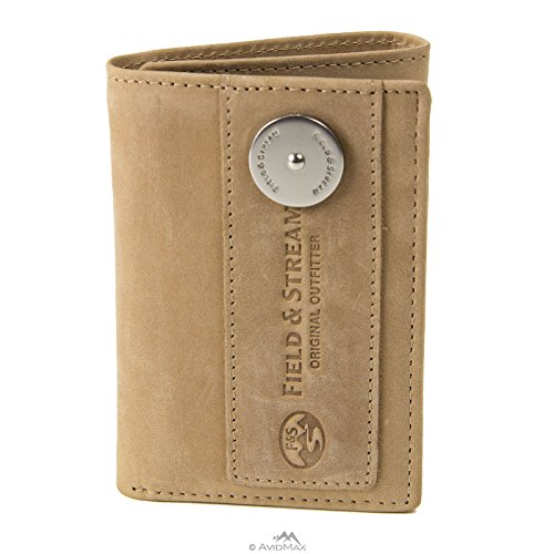 field-and-stream-three-fold-wallet-rfid-blocking-tan