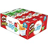 Pringles 100 Calorie Variety Pack Reduced Fat Chips, 0.63 Ounce, 18 Count (Pack of 4)