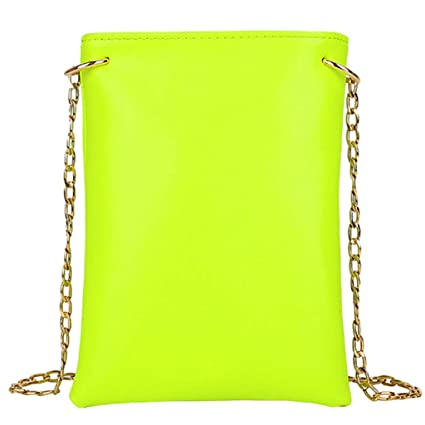 5e259882b28e Amazon.com: Onefa Shoulder Bag Zipper Solid Color, Women Messenger ...