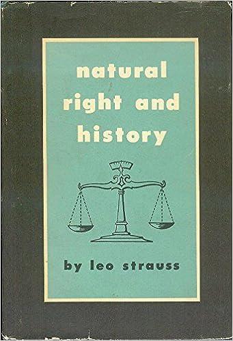 Natural Right and History