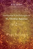 Introduction to the Philosophy of St. Thomas