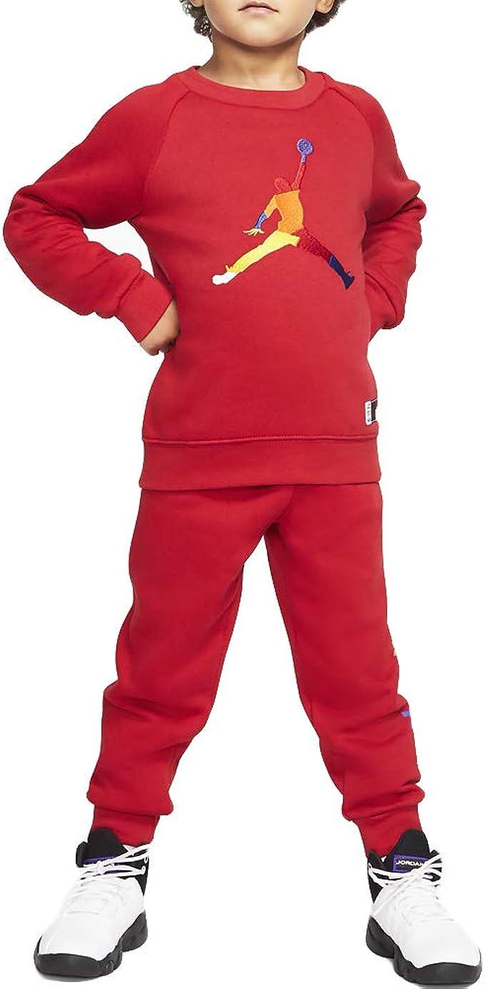 Tuta Jordan Nike Air bambino rossa
