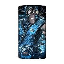 LG G4 Hard Phone Back Mobile Thin TPU Skin Case Cover For LG G4 mortal kombat sub zero video game Game Hot Design by [David Reed]